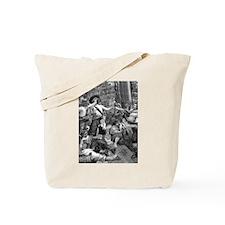 Vintage Pirates Tote Bag