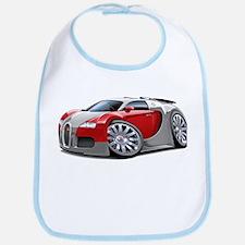 Veyron Grey-Red Car Bib