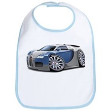 Veyron Grey-Blue Car Bib