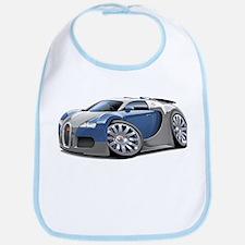 Veyron Grey-Blue Car Bib