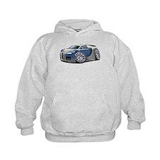 Veyron Grey-Blue Car Hoodie