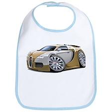 Veyron Gold-Grey Car Bib