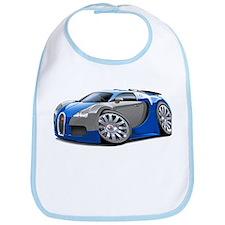 Veyron Blue-Grey Car Bib