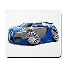Veyron Blue-Grey Car Mousepad
