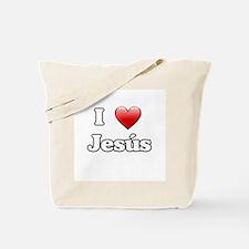 I Heart Jesus Tote Bag