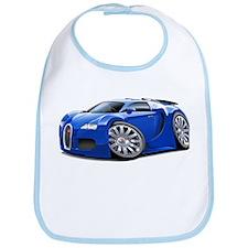 Veyron Blue Car Bib