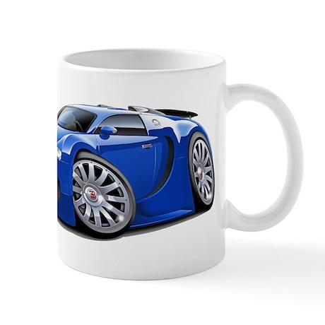 Veyron Blue Car Mug
