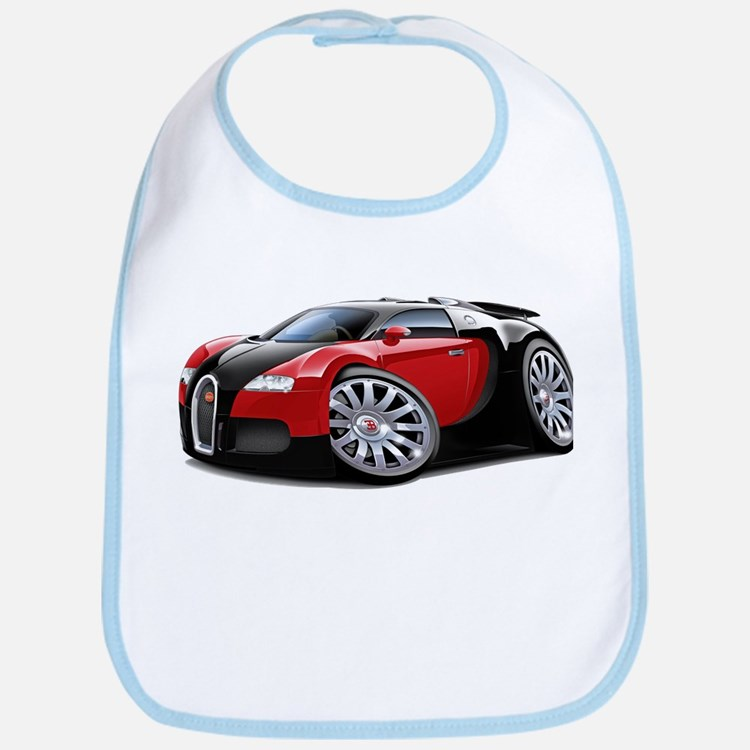 Veyron Black-Red Car Bib