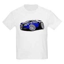 Veyron Black-Blue Car T-Shirt