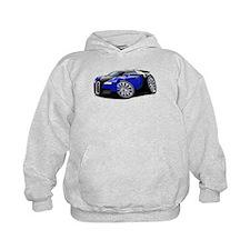 Veyron Black-Blue Car Hoodie