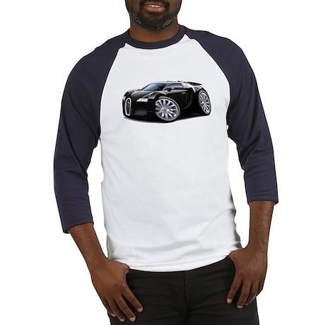 Veyron Black Car Baseball Jersey
