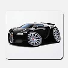 Veyron Black Car Mousepad