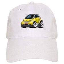 Smart Yellow Car Baseball Cap