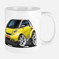 Smart Yellow Car Mug