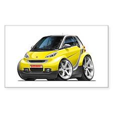 Smart Yellow Car Decal