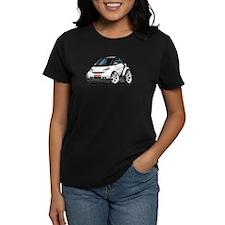 Smart White-Black Car Tee