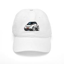 Smart White-Black Car Baseball Baseball Cap