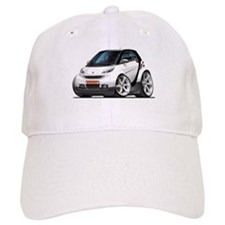 Smart White-Black Car Baseball Cap