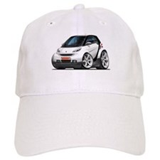 Smart White-Black Car Cap