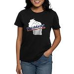Solidarity - White State - Fi Women's Dark T-Shirt