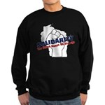 Solidarity - White State - Fi Sweatshirt (dark)