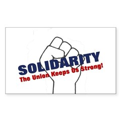 Solidarity - White State - Fi Decal