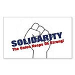 Solidarity - White State - Fi Sticker (Rectangle 1