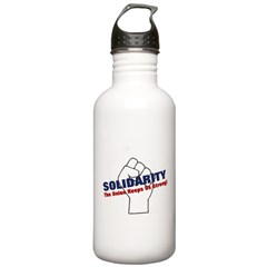 Solidarity - White State - Fi Water Bottle