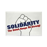 Solidarity - White State - Fi Rectangle Magnet (10