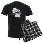 Solidarity - White State - Fi Men's Dark Pajamas