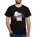 Solidarity - White State - Fi Dark T-Shirt