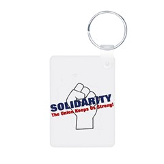 Solidarity - White State - Fi Keychains