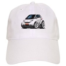 Smart White Car Baseball Cap