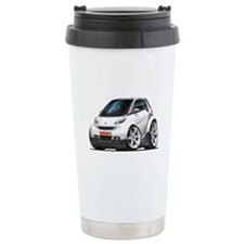 Smart White Car Travel Mug