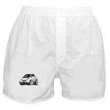 Smart White Car Boxer Shorts