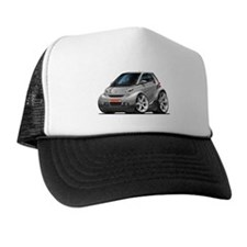 Smart Silver Car Hat