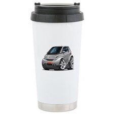 Smart Silver Car Travel Mug