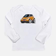 Smart Orange Car Long Sleeve Infant T-Shirt