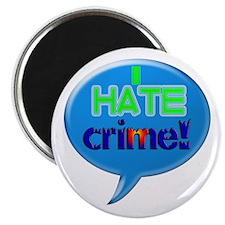 "CRIME CRUSHER 2.25"" Magnet (10 pack)"