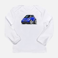 Smart Blue Car Long Sleeve Infant T-Shirt