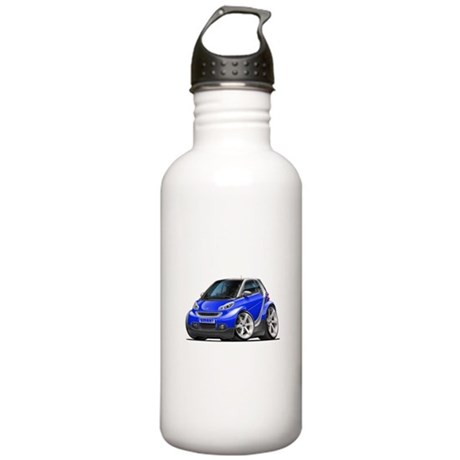 Smart Blue Car Stainless Water Bottle 1.0L