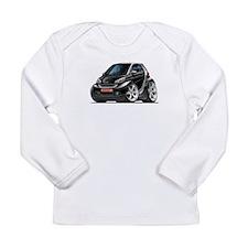 Smart Black Car Long Sleeve Infant T-Shirt