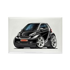 Smart Black Car Rectangle Magnet