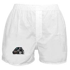 Smart Black Car Boxer Shorts