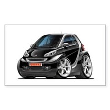 Smart Black Car Decal