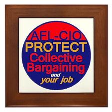 Collective Bargaining Framed Tile