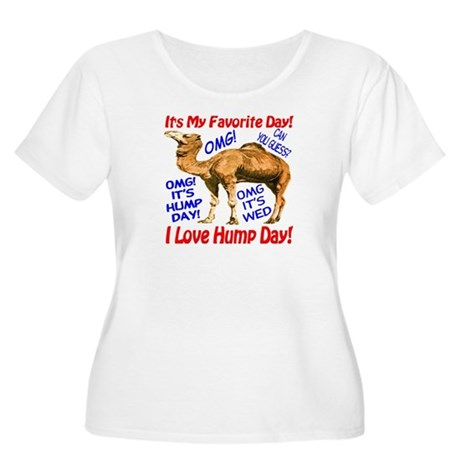 Hump Day Camel Best Seller Women's Plus Size Scoop