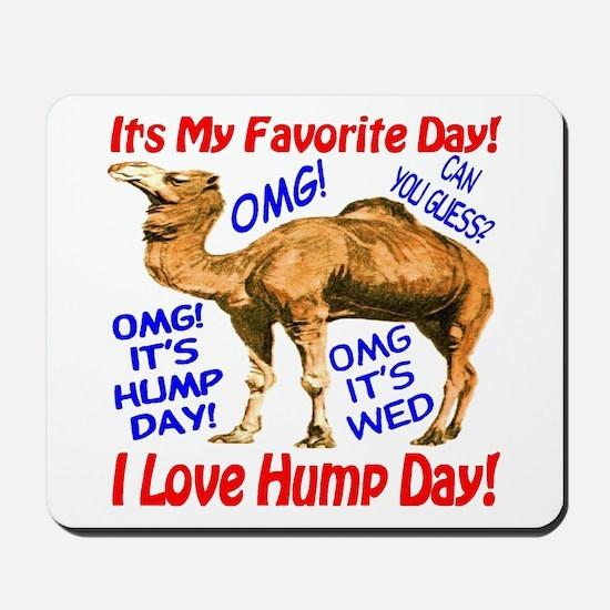 Hump Day Camel Best Seller Mousepad