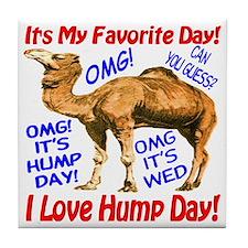 Hump Day Camel Best Seller Tile Coaster