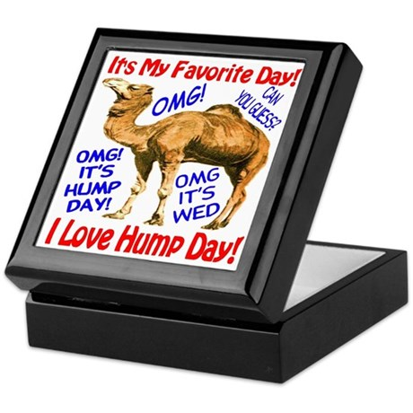 Hump Day Camel Best Seller Keepsake Box